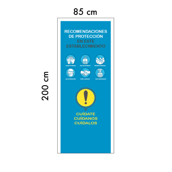 Roll-up medidas Covid-19